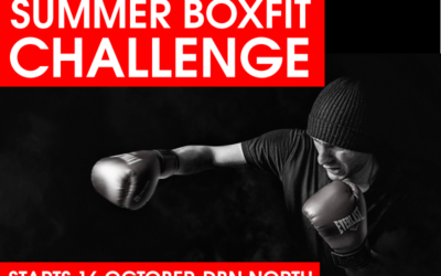 SUMMER BOXFIT CHALLENGE – 16 Oct